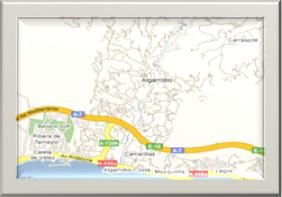 Map Algarrobo
