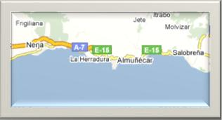 Map Almuñecar